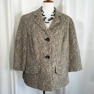 Coldwater Creek Blazer Jacket Size 18W